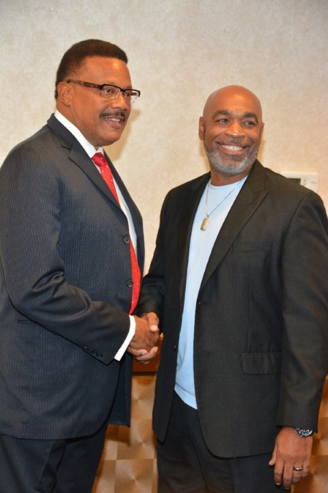 Judge Mathis & Christopher Perry