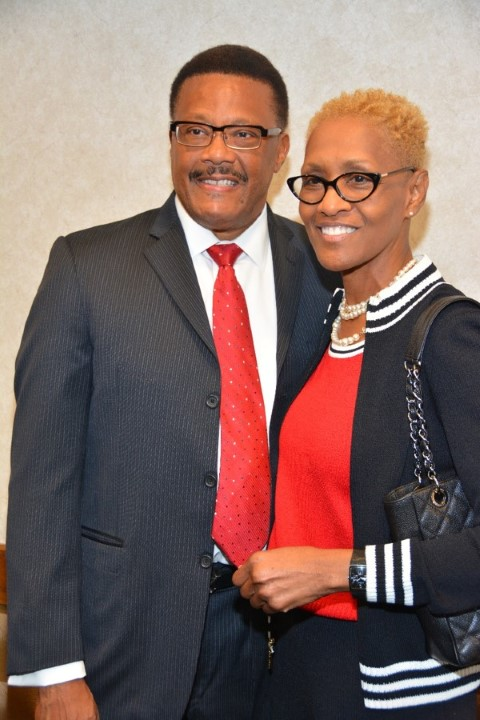 Judge Mathis w/ Opal Sims