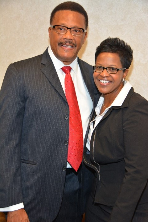 Judge Mathis & Charise Allen