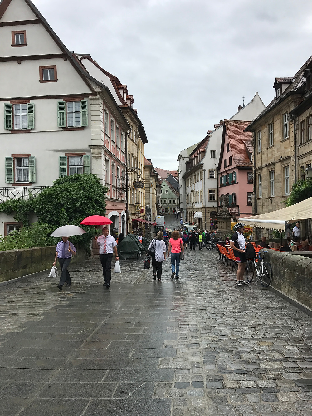 The streets of Nuremberg