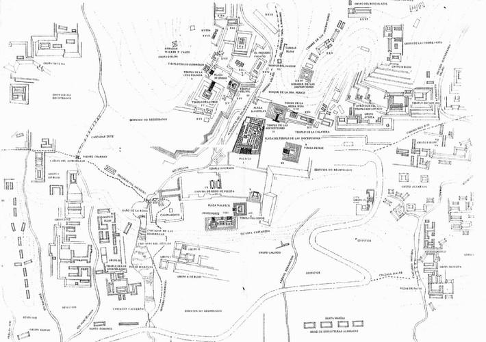 Mapa Palenque