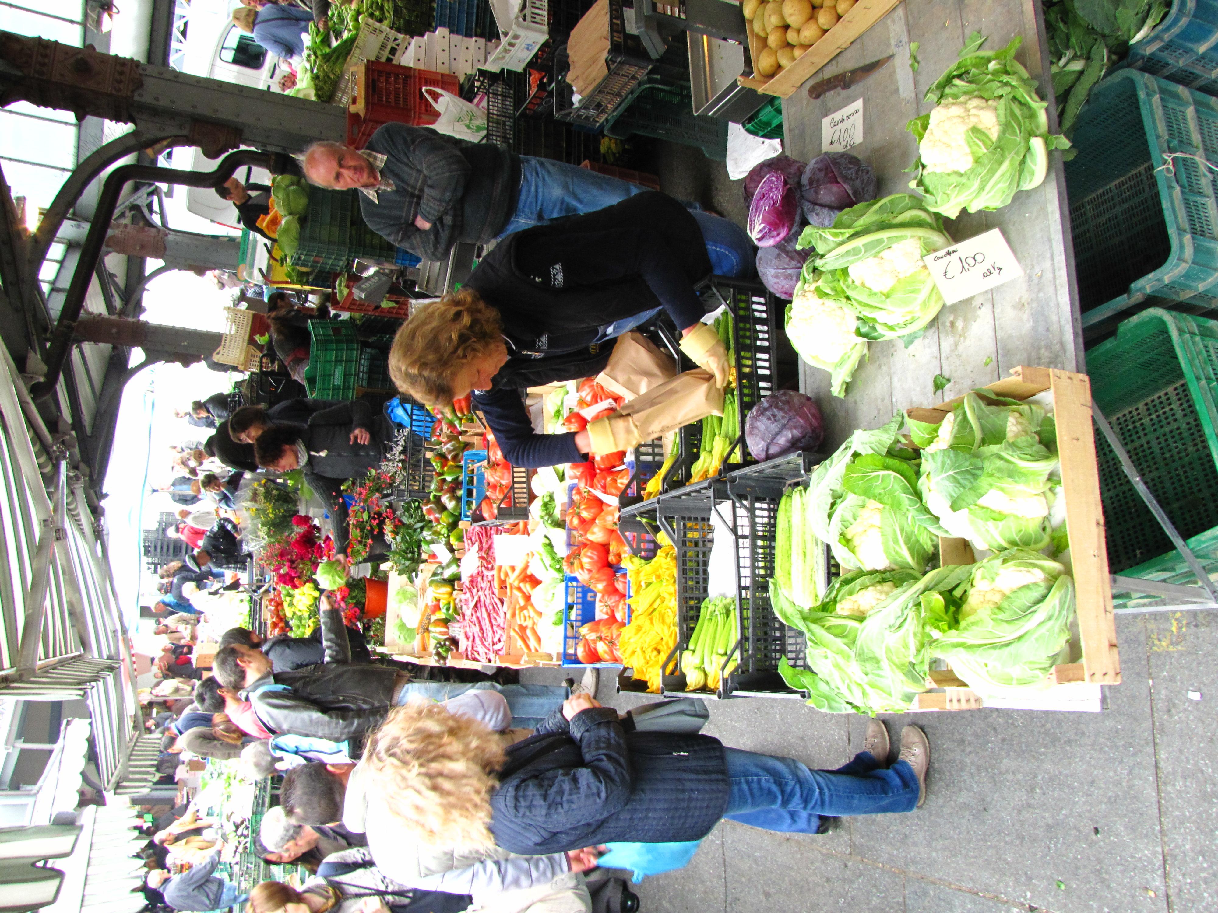 Mercado en Torino