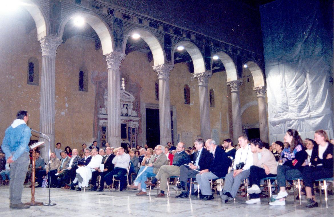 Hza.= F. Mariani en homenaje a Samuel R.en Roma