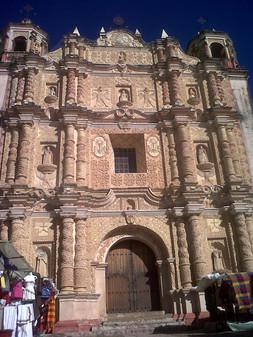 Iglecia de santo Domingo en San Criatóbal de Las Casas