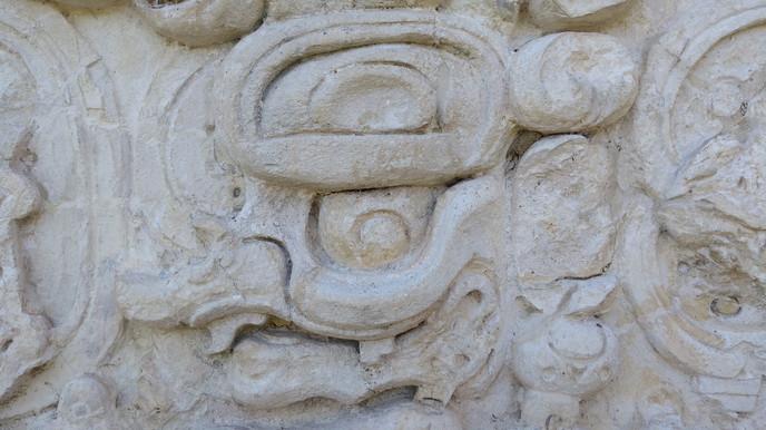Estucos  en Palenque