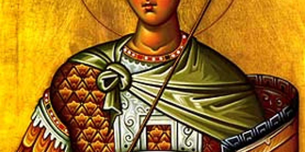 Divine Liturgy for St. Demetrios the Great-Martyr and Myrrh-Streamer