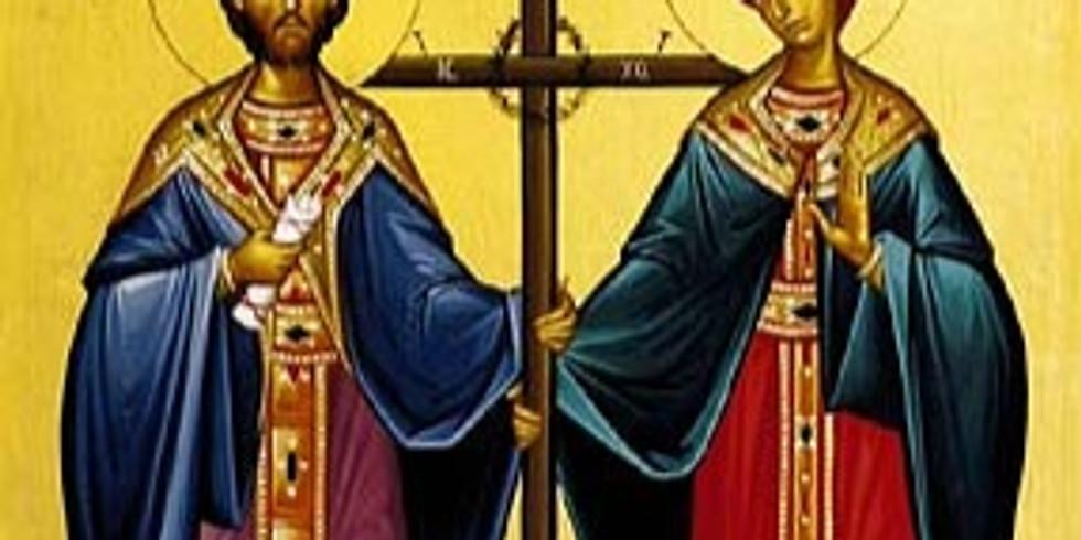 Divine Liturgy Saints Constantine and Helen