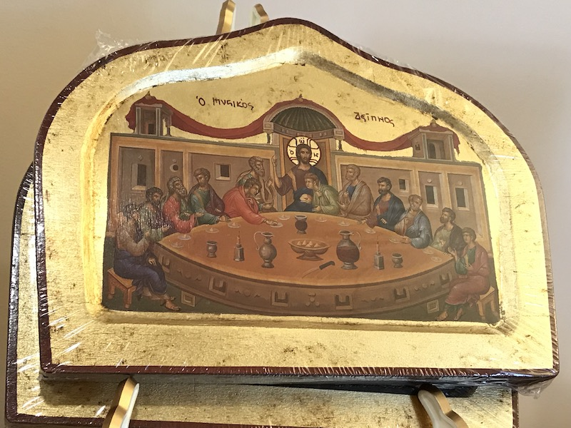 Mystical Supper Icon