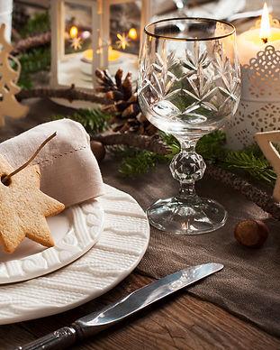 Julemiddagsbord