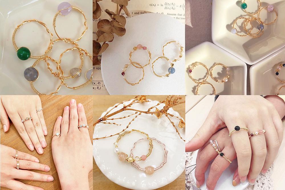 各種手工戒指