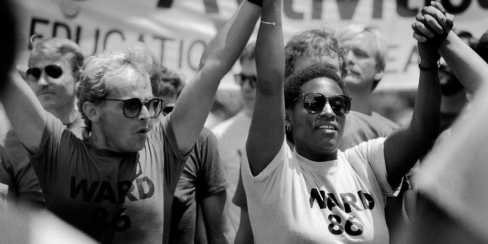 Photography Premiere: PRIDE - Hearts of the Movement: The San Francisco Gay & Lesbian Freedom Day Parade: 1984-1990