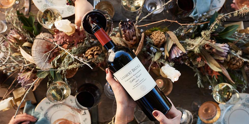 Wine Tasting with Lambert Bridge Winery & Flambeaux Wine