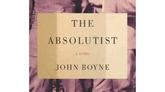 "Academy Book Club: ""The Absolutist"" by John Boyne"