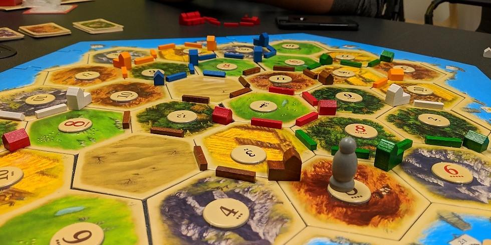 Academy Game Night: Settlers of Catan & Azul