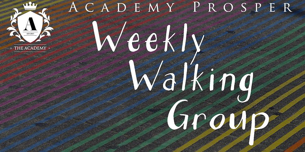 Academy Prosper: Weekly Walking Group