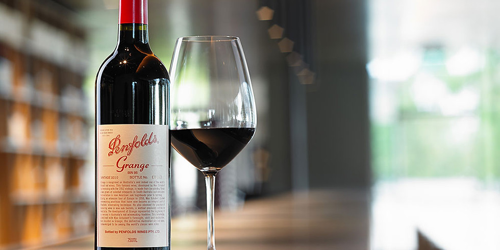Academy of Wine: Masterclass with Penfolds