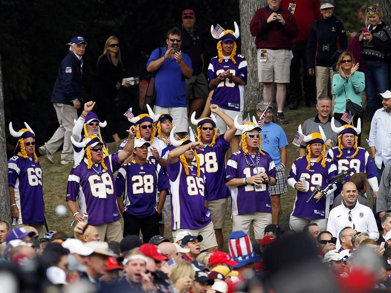 Ryder Cup Vikings Fans