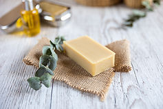 Natural bathroom product, handcrafted so