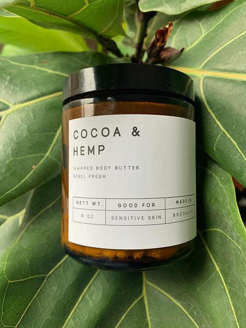 Cocoa & Hemp Body Butter