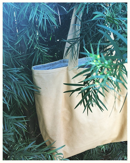 Late July Leather Tote