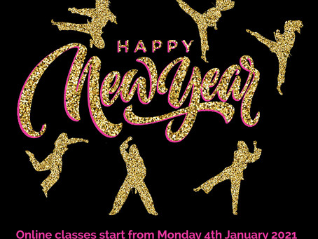 Online classes start again in 2021