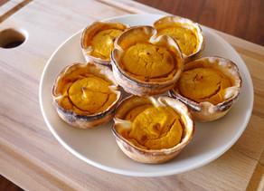 Mini Coconut Pumpkin Pies