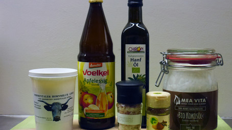 6 most used ingredients in my kitchen