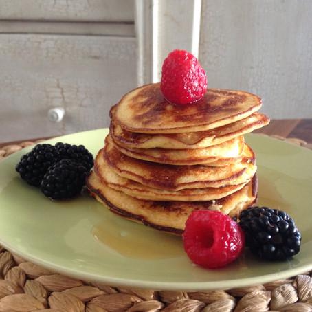 Coconut flour ricotta pancake