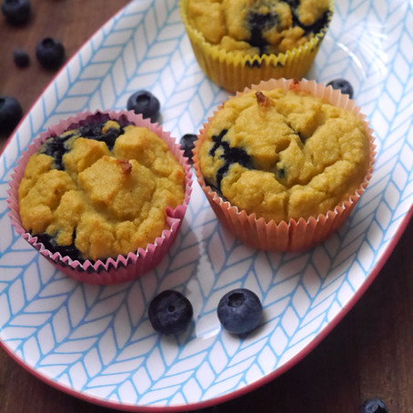 Coconut blueberry muffin (Gluten-free)