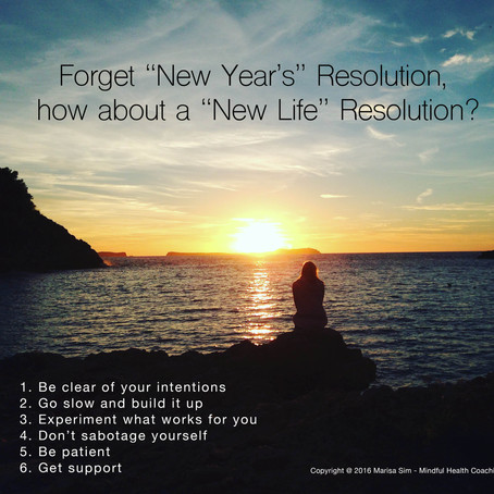"Forget ""New Year's"" Resolutions, how about a ""New Life"" Resolution?"