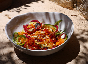 Colourful Summer Veggie Noodles