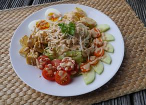 Light Gado Gado Salad