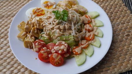Light Gado Gado Salad
