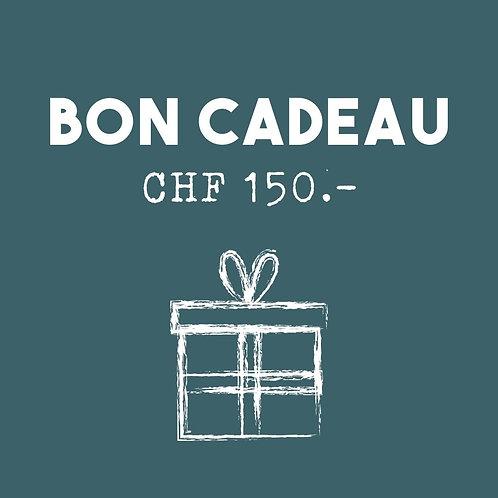 Bon cadeau - CHF 150.-