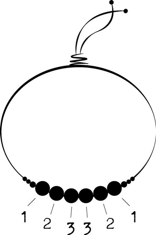 Bracelet sur fil personnalisé
