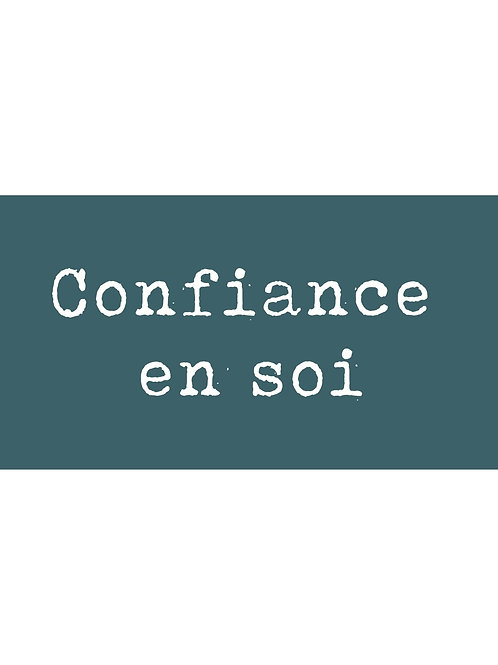 Atelier Confiance en soi -  En direct + Replay