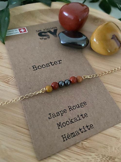 Booster  - Bracelet sur chaîne