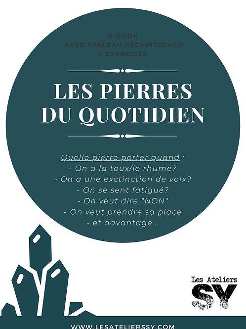 """E-book """"Les pierres du quotidien"""""""