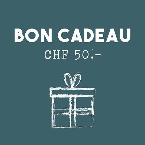 Bon cadeau - CHF 50.-