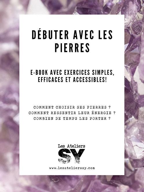 """E-book """"Débuter avec les pierres"""""""