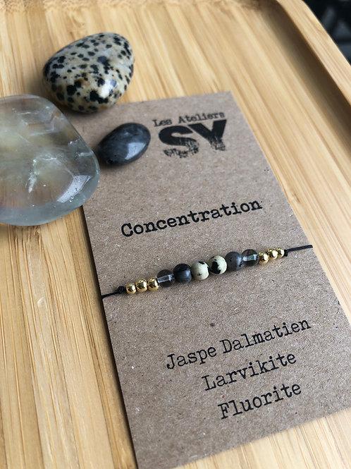 Concentration - Bracelet sur fil Well'SY