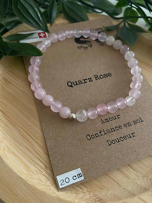 Clas'SY 6 - Quartz Rose - Argenté - 20cm