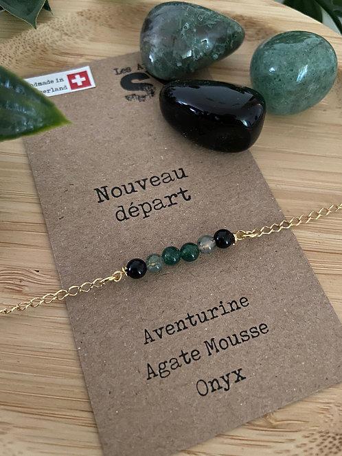 Nouveau départ - Bracelet sur chaîne Well'SY
