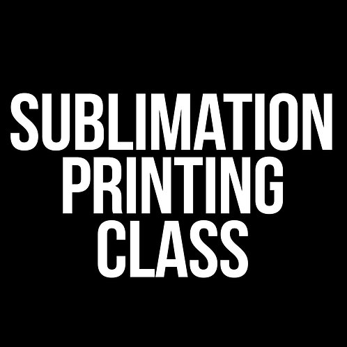 SUBLIMATION PRINTING CLASS FACEBOOK GROUP