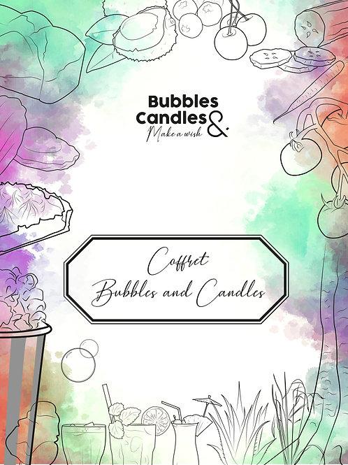 """Coffret """"Bubbles & Candles"""""""