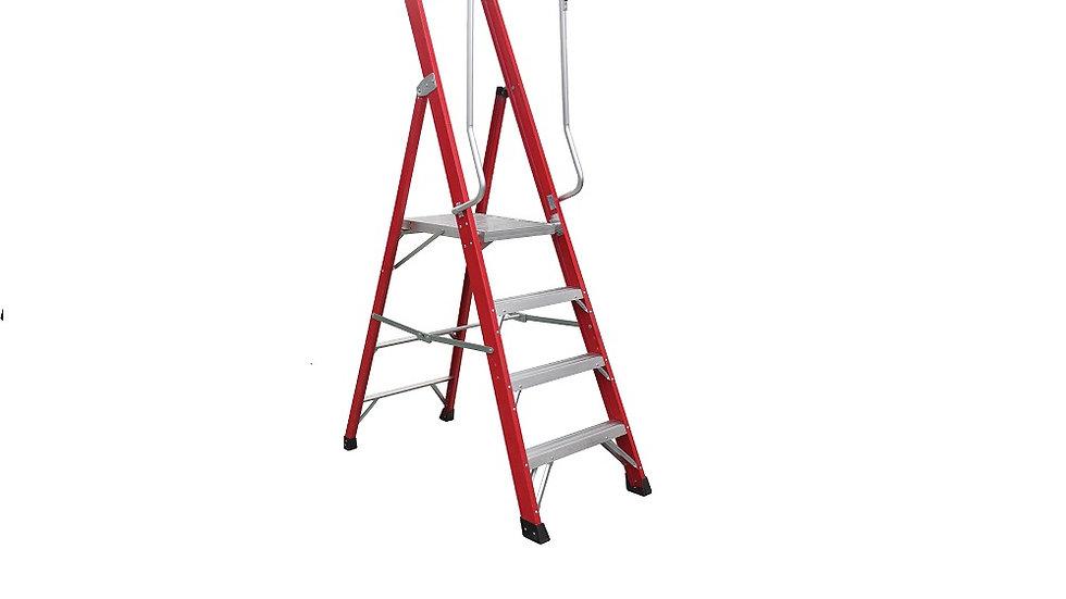 SPIDER Fibreglass Industrial 3 - 9 Step Platform Ladders