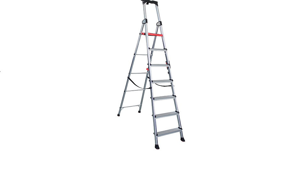 Beetle Aluminium Lightweight3- 7Step Platform Ladders