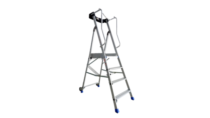 RHINO PLUS+ Heavy Duty Aluminium Platform Ladders