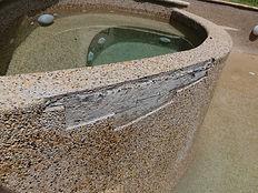 pebblecrete pool repairs Gold Coast