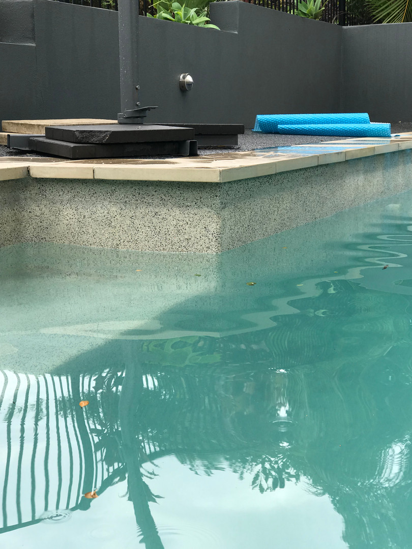 Concrete Pool Repairs completed